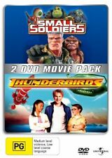 Small Soldiers / Thunderbirds New DVD Region 4 Unsealed