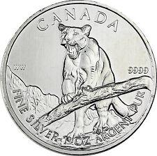 Kanada 5 Dollars Silber 2012 bfr. Wildlife Serie Puma  1 oz Silver