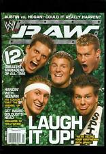 2006 WWE Magazine: Raw: The Spirit Of '06/ 12 Greatest Managers Of All Time