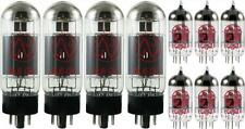 JJ Tesla Premium Tube Complement Set for Peavey 6505+ Plus Guitar Amp NEW