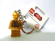 LEGO Star Wars Minifigure Keyring / Keychain C-3PO New NWT