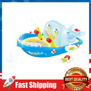 27pcs Children's Toy 2 in 1 Set Sea Outing Fishing Kitchen with Light Music