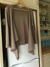 Autograph for M & S linen/silk cardigan jacket. 14. Excellent Condition. Neutral