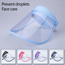 Splash Face Saliva-proof Anti-fog Cap Full Face Protective Shield Clear Sun Hat