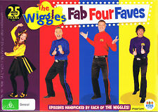 The Wiggles - Fab Four Faves Favourites - Region 4 DVD (2016, 4-Disc Set)
