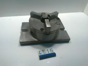 3 Jaw Chuck on 25 x 15 cm Clamping Base (4484)