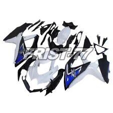 Bodywork for Suzuki GSXR600 2010 GSXR750 2008 2009 Black White Blue K8 Fairings