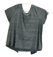 Lane Bryant Women's Plus Size 26/28 Short Sleeve Crew Neck Cotton Blend T-Shirt