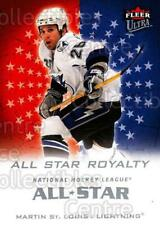 2008-09 Ultra All-Star Royalty #5 Martin St. Louis