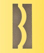 Vollmer 48244 H0 Placa de calle adoquines, JE2 Extremos L 1 , 7cmxb8cm NUEVO