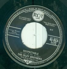 THE ISLEY BROTHERS - RESPECTABLE ( U.K. RCA  45 RCA 1172 ( ORIG. 1959 )