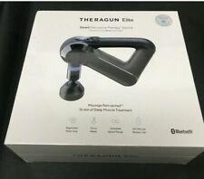 Theragun Elite Black Massager Massage Gun Portable Percussion Handheld New Seal