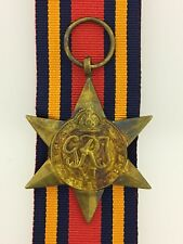 British WWII Burma Star full size veteran replacement medal