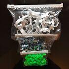 ZIP SEAL BAGS ZIPLOCK HIGH CLARITY CLEAR WHITE TOP PLASTIC 6 SIZES BUY 10 -100