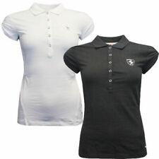 Puma Ferrari Motorsport Womens Short Sleeve Half Button Polo Shirts Tops 565458
