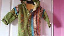 Gilet Manteau Capuche en laine + tee shirt assorti CLAYEUX 3 ans Excellent état