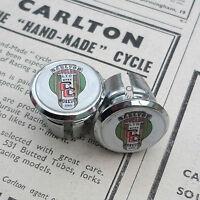 Vintage Style Carlton, Worksop Crest Racing Bar Plugs, Caps, Repro