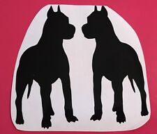Pitbull Terrier Staffy Vinyl Decal Car Sticker Animal Dog Pet Window