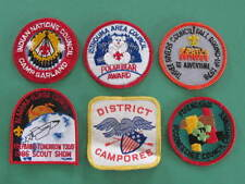 Istrouma Area Council Indian Nations Council 6 BSA US America Scouts Badges