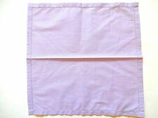 Ralph Lauren RRL Italy Handmade Purple Striped Cotton Pocket Square Handkerchief