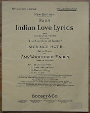 Indian Love Lyrics from The Garden Of Kama by Laurence Hope – Pub.1903