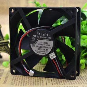 Panaflo FBL09A24U 9025 24v 0.3A Chassis Cabinet Inverter Cooling Fan