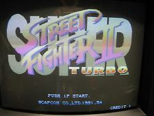 SUPER Street Fighter II 2 Turbo Arcade PCB ORIGINALE CAPCOM JAMMA cps2