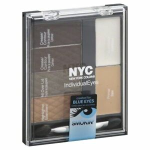 Two Pack NYC Individual Eyes Created For Blue Eyes 942 Smokey Blues