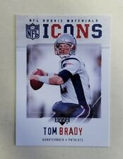 2005 NFL Rookie Materials Tom Brady Icons Card IC-5