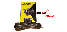 Kicker CXARC Remote Bass Control For CX-Series Amplifiers 12CXRC