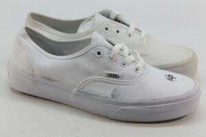 Vans Authentic Solid Unisex True White Shoes W7.5/M6