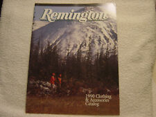Remington 1990 clothing & accessories catalog
