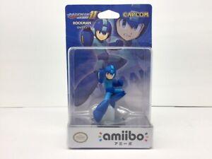 Nintendo amiibo Rockman 11 MEGA MAN (Rockman) 3DS Switch Accessories NEW Japan