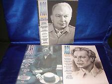 RARE ASI Magazine lot of 3. L Ron Hubbard , Fiction, Author's Services Inc.