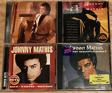 Johnny Mathis 4 cd SUPER HITS/ALL ABOUT LOVE/16 MOST REQUESTED SONGS/DUET ALBUM