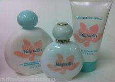 Yves Rocher Magnolia 3-er Set 100 ml EDT + 150 ml Duschgel + 200 ml Bodymilk