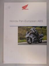 Honda Pan European Verkaufs Prospekt 01/02 Nr.1320110
