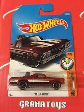 68 El Camino #216 Red 2017 Hot Wheels Case K