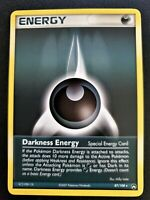Pokemon special Darkness ENERGY 87/108 EX Power Keepers RARE Card Mint