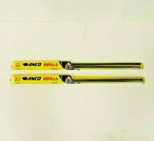 "2-Pack ANCO Windshield Wiper Blade Refills 11-21 533mm 21"" 2 Pair NOS SHIPS FREE"