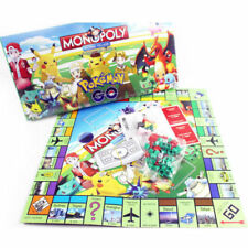Hot Pokemon Monopoly Junior Family Board Game Monster Pikachu Gift Boys Girls UK