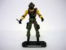 GI JOE COPPERHEAD Rise of Cobra Figure TRU Exclusive NEAR COMPLETE C9+ v8 2010