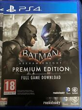 Arkham Knight Premium Edition (UK PS4 Download Code)
