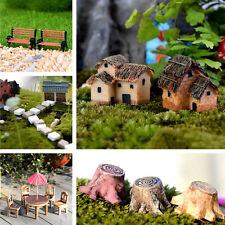 DIY Mini Miniature Fairy Craft Figurine Plant Pot Garden Ornament  Garden Decor