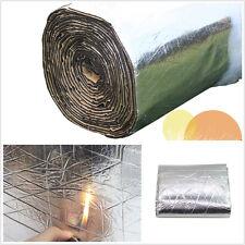 98.43''×39.37''Aluminum Foil Car Truck Firewall Sound Deadener Insulation Cotton
