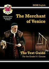Grade 9-1 GCSE English Shakespeare Text Guide - The Merchant of Venice CGP Book