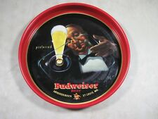 Vintage Tin Metal Budweiser Beer Preferred Tray St Louis MO USA A.C.C.O.