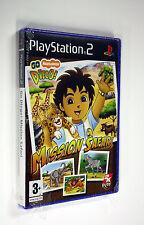 JEU SONY PS 2 Go Diego! Mission Safari     neuf   vf