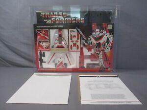 Transformers G1 JETFIRE AFA Graded 80 Q-NM Qualified 1985 Autobot Air Guardian
