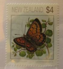 c1995 New Zealand SC #1078 COMMON COPPER BUTTERFLY  MNH stamp